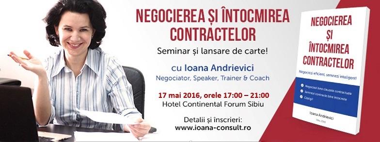 Negocierea și întocmirea contractelor - seminar