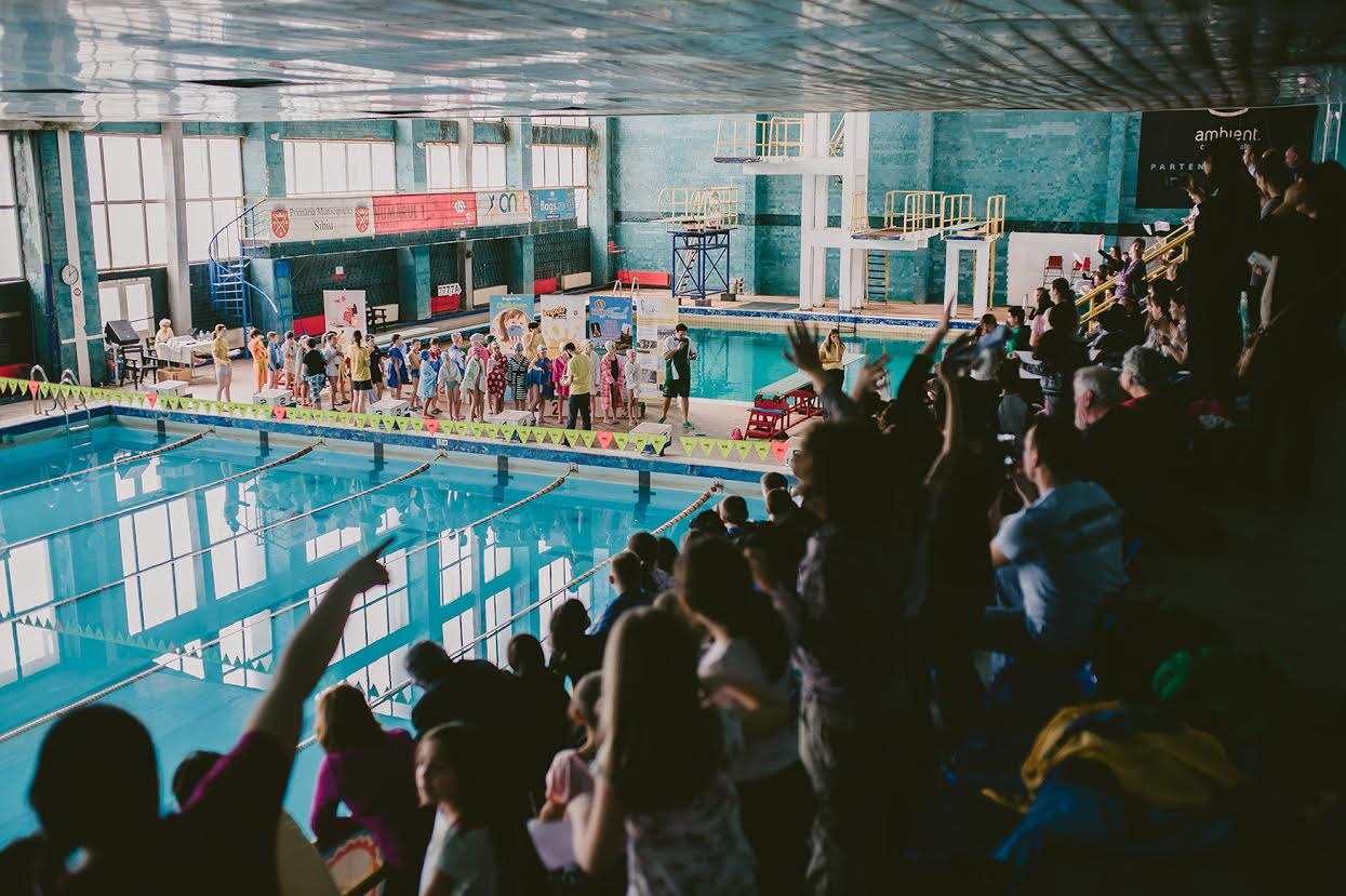 A doua ediție a Cupei Serious Fun la înot