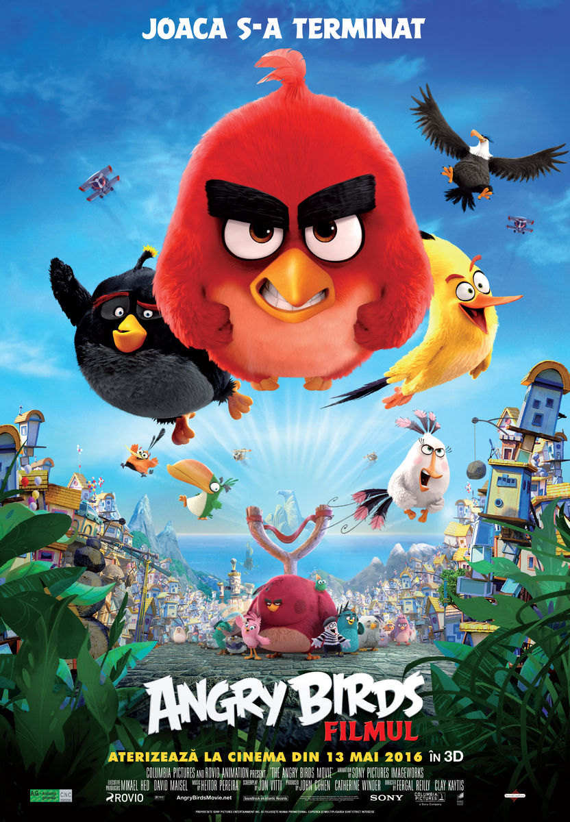 Angry Birds: Filmul – 3D Dublat / The Angry Birds Movie – 3D