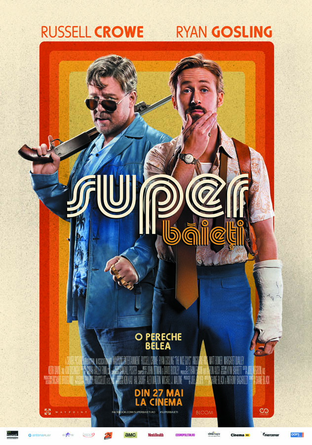 Super baieti / The Nice Guys (Premiera)