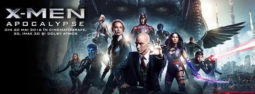 X-Men: Apocalypse – 3D (Premiera)