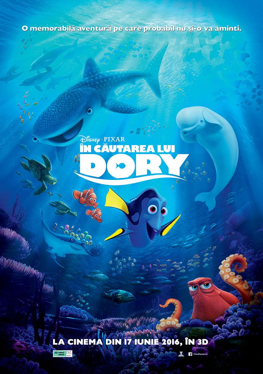 In cautarea lui Dory – 3D / Finding Dory – 3D (Premiera)