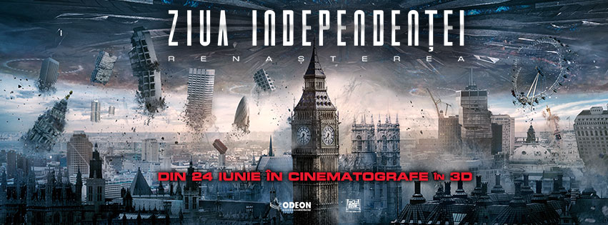 Ziua Independentei: Renasterea – 3D / Independendence Day: Resurgence – 3D (Premiera)