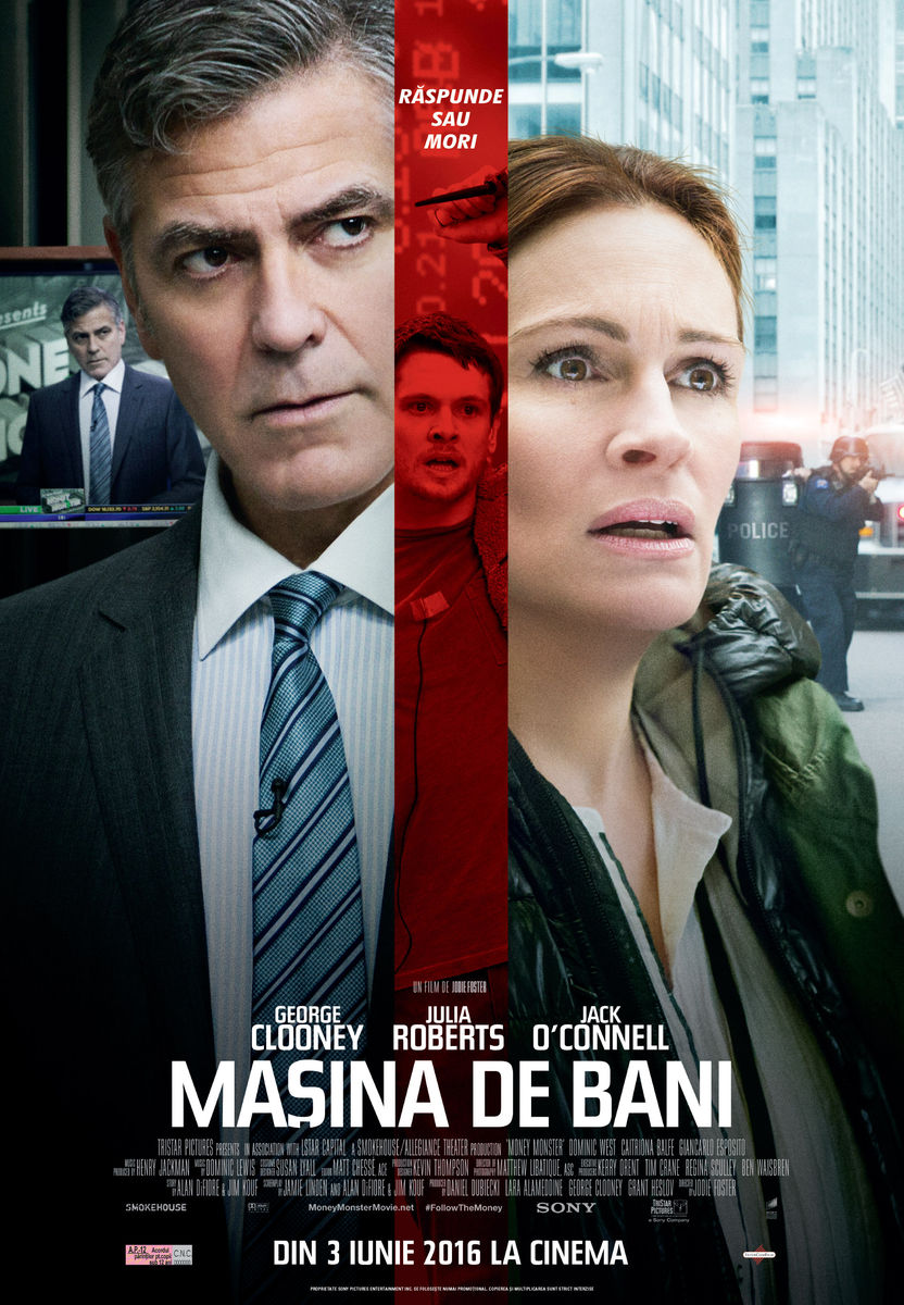 Masina de bani / Money Monster (Premiera)