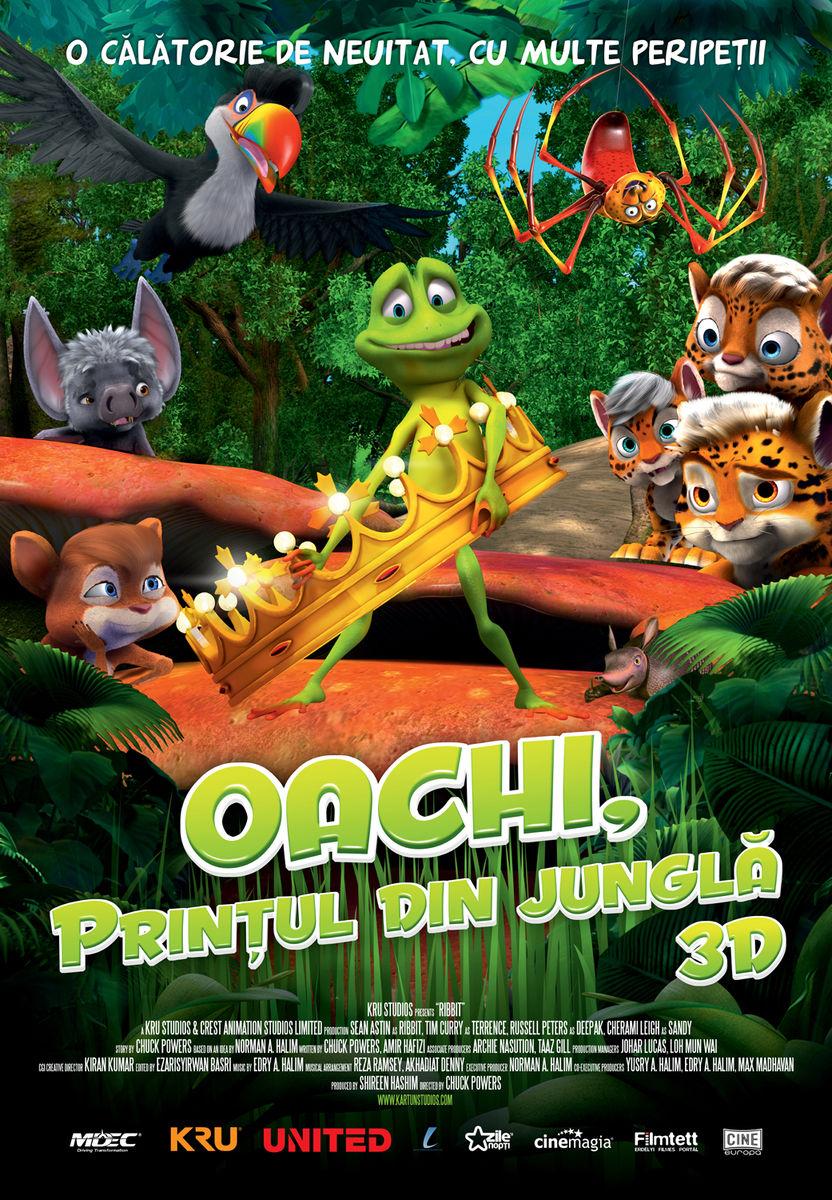 Oachi, Printul din Jungla – 3D Dublat / Ribbit 3D (Premiera)