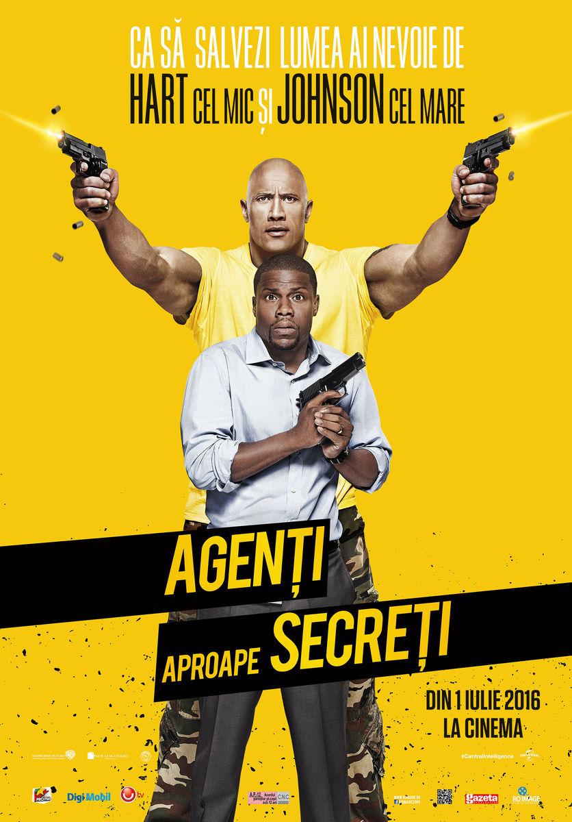 Agenti aproape secreti / Central Intelligence (Premiera)