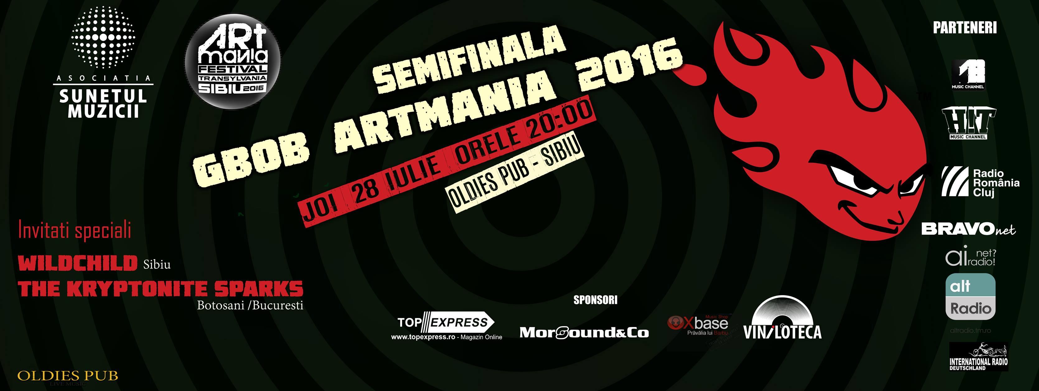 GBOB România 2016. Semifinala ARTmania