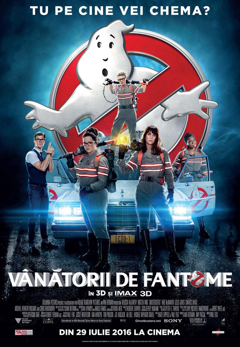 Vanatorii de fantome – 3D / Ghostbusters – 3D (Premiera)