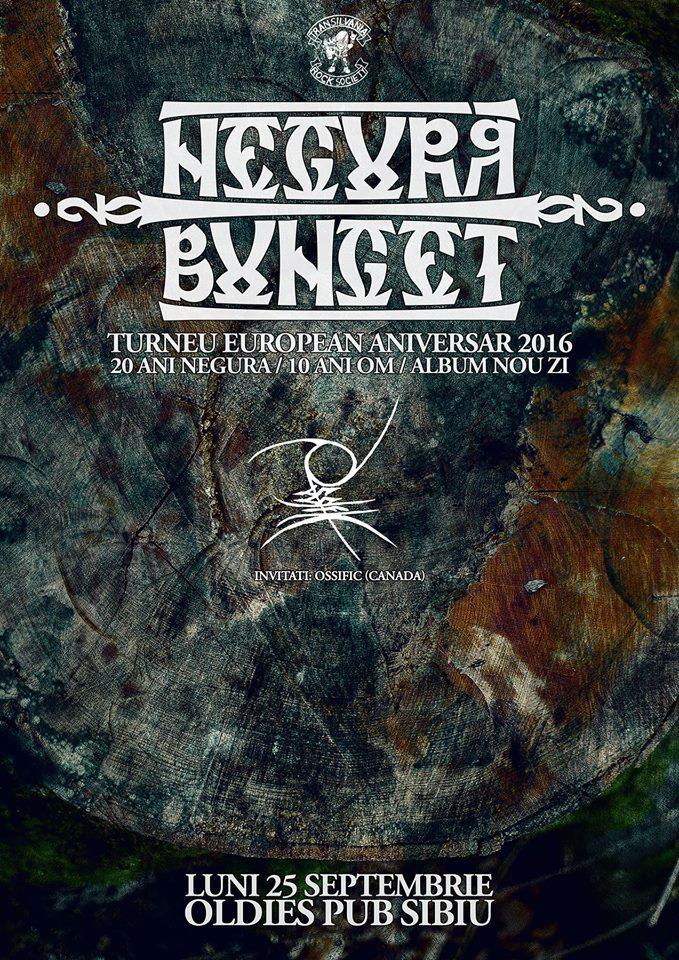 Negura Bunget - Lansare album ZI - turneu aniversar Sibiu