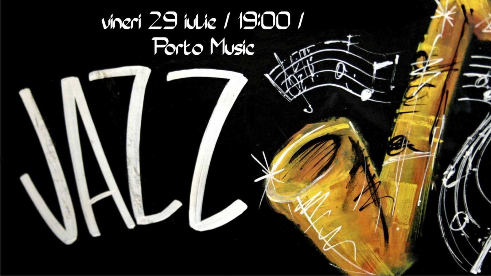 Porto Jazz Music pe terasa Cafenelei din Librărie
