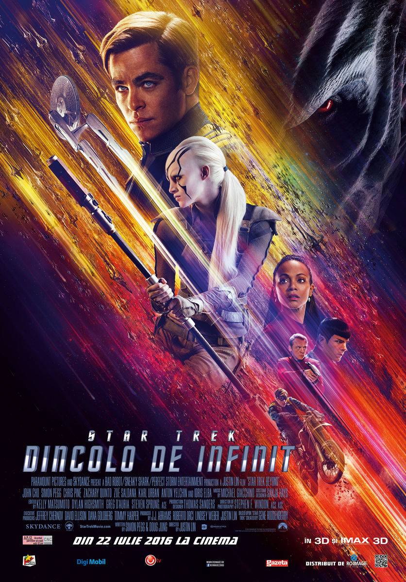 Star Trek: Dincolo de infinit – 3D / Star Trek: Beyond – 3D (Avanpremiera)