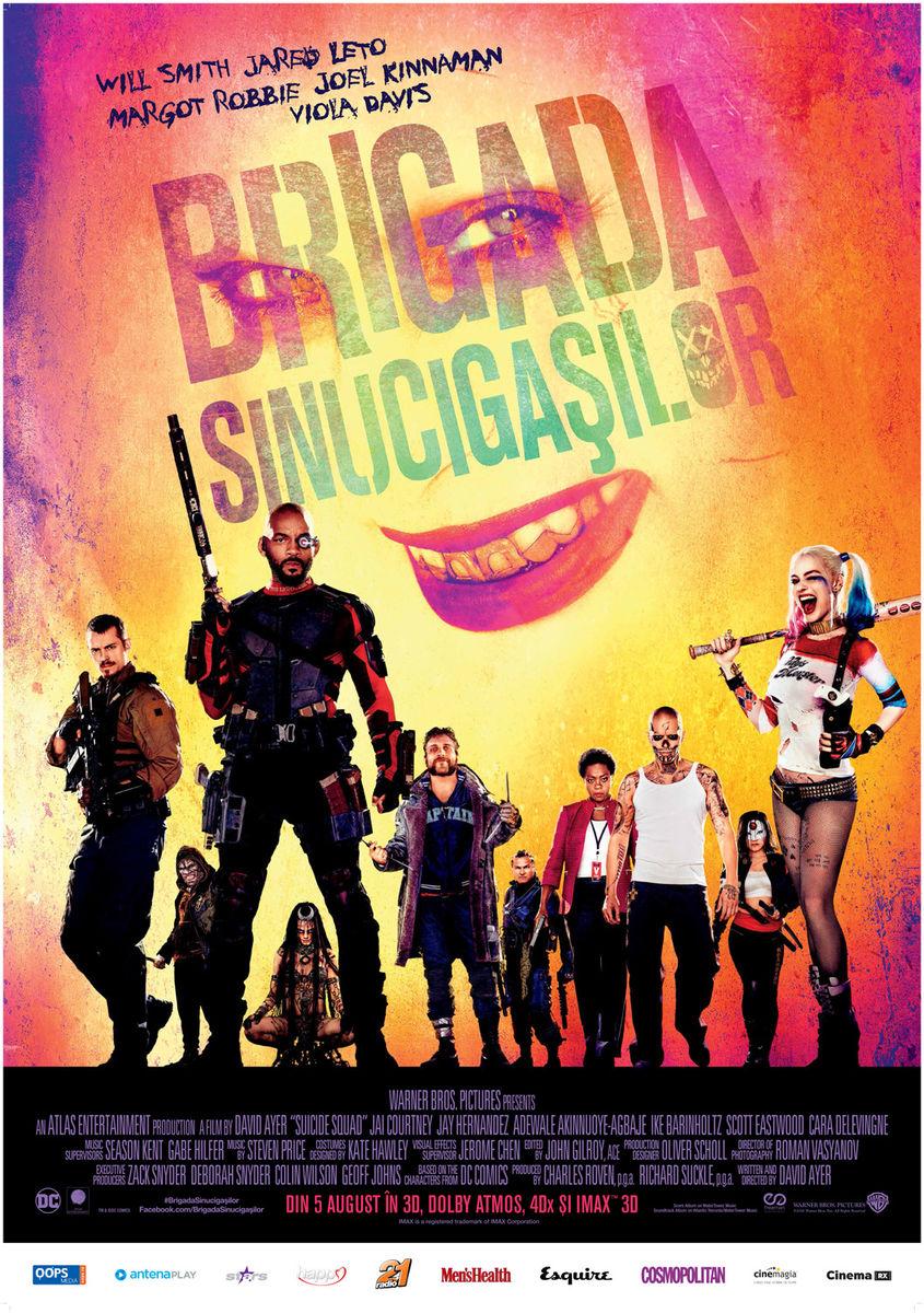 Brigada Sinucigasilor – 3D / Suicide Squad – 3D (Avanpremiera)