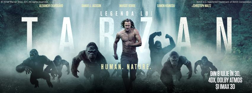 Legenda lui Tarzan – 3D / The Legend of Tarzan – 3D (Premiera)