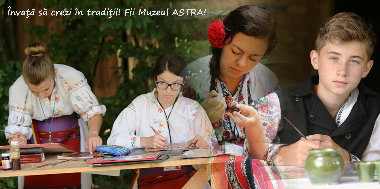 Vacanta de vara + Muzeul ASTRA = Scoala in satul traditional