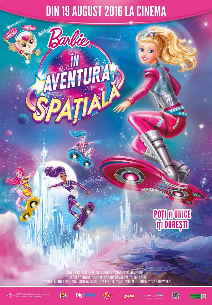 Barbie in Aventura Spatiala – 2D Dublat / Barbie Starlight Adventure (Premiera)