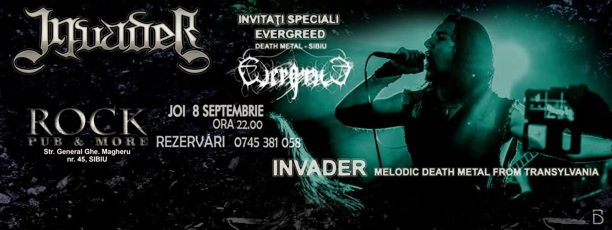 Concert Invader & EvergreeD - ROCK Pub&More SIBIU