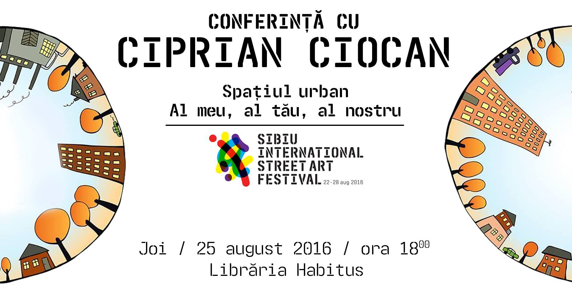 Conferință cu Ciprian Ciocan la SISAF 2016