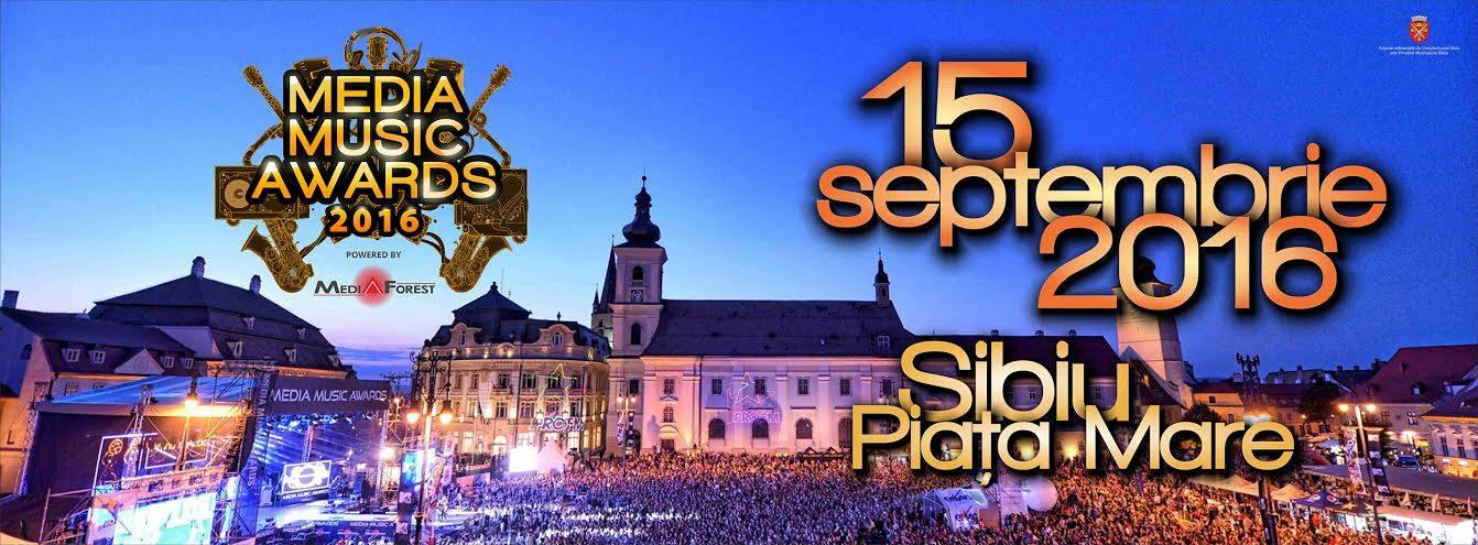 Media Music Awards. 15 septembrie, Sibiu