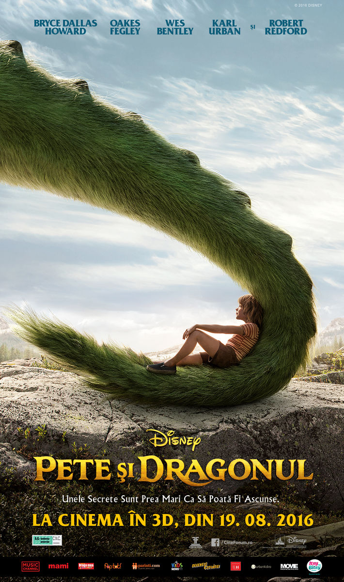 Pete si Dragonul – 3D Dublat / Pete's Dragon – 3D