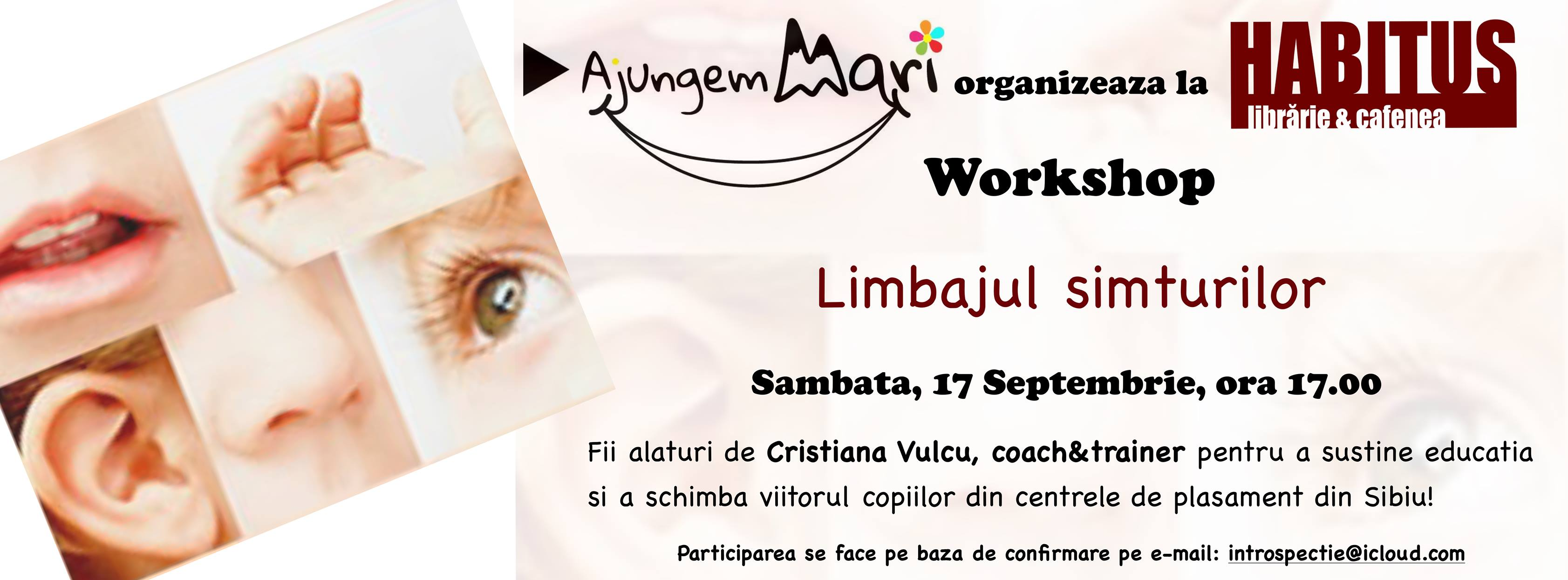 Workshop - Limbajul simțurilor