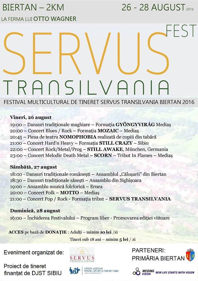 Servus Transilvania Fest 2016
