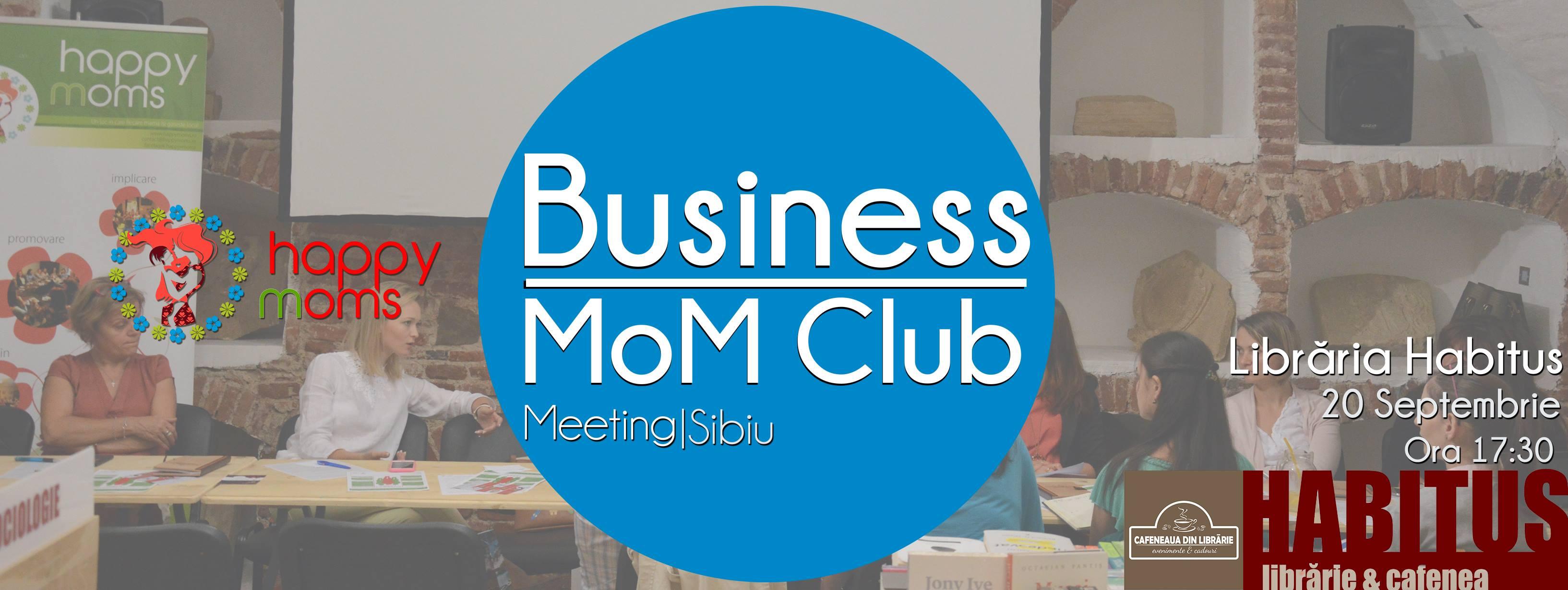 Întâlnire Business MoM Club Sibiu