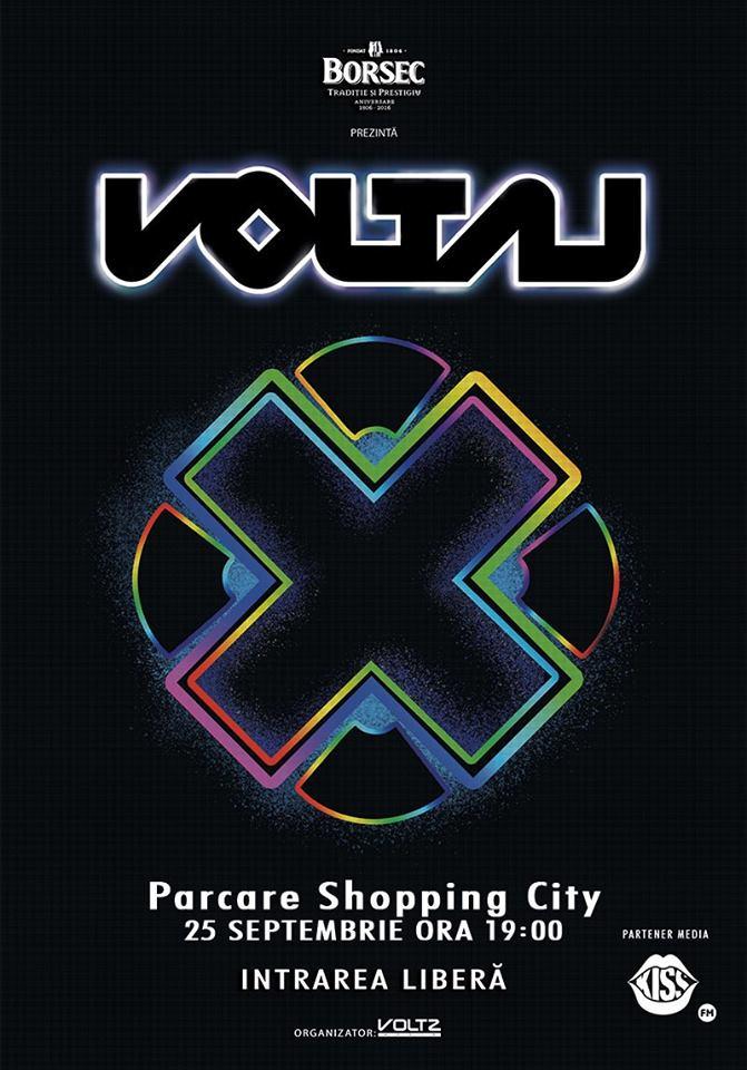 Concert Voltaj X Tour la Sibiu