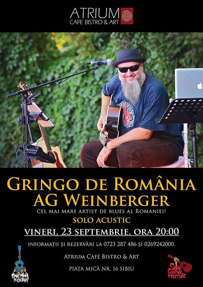 Concert: Gringo De Romania A.G. Weinberger