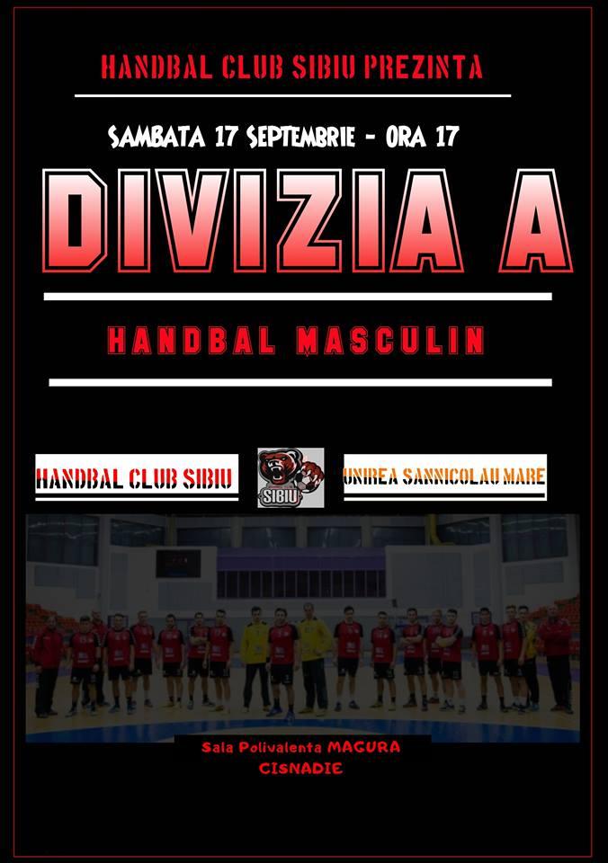 Handbal Club Sibiu - CS Unirea Sannicolau Mare