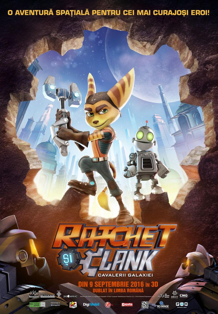 Ratchet & Clank: Cavalerii Galaxiei – 3D Dublat / Ratchet & Clank (Premiera)