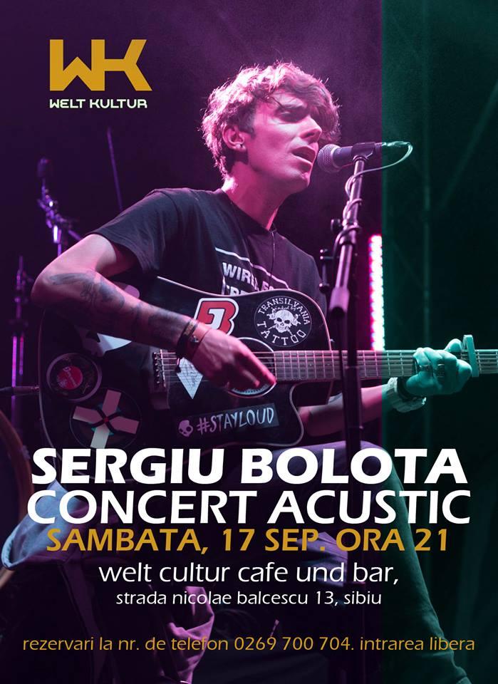 Sergiu Bolota concert acustic
