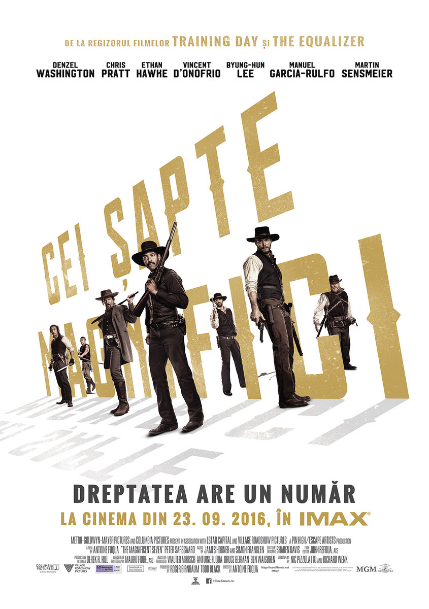 Cei Sapte Magnifici / The Magnificent Seven (Premiera)