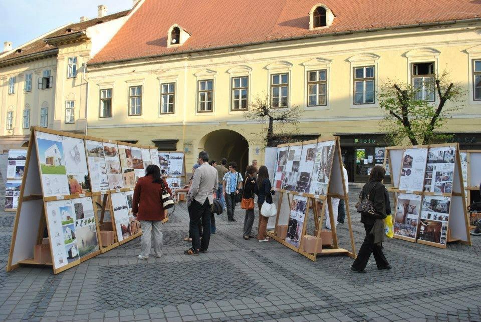 Expoziția Arhitectura.6