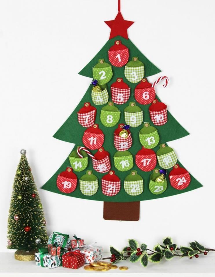 În așteptarea lui Moș Crăciun - advent calendar