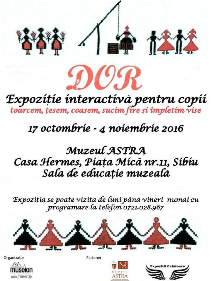 DOR - Expozitie interactiva pentru copii