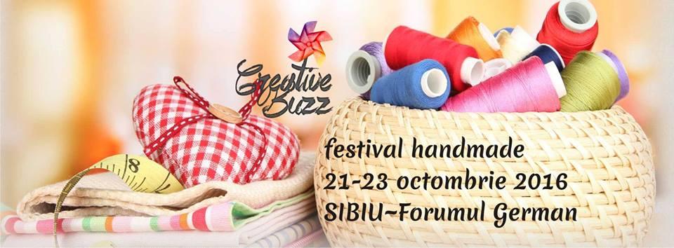 Festival Handmade Creative Buzz la Sibiu - ediția 9