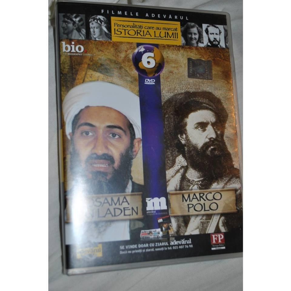 Personalităţi care au marcat istoria lumii: Osama bin Laden; Marco Polo