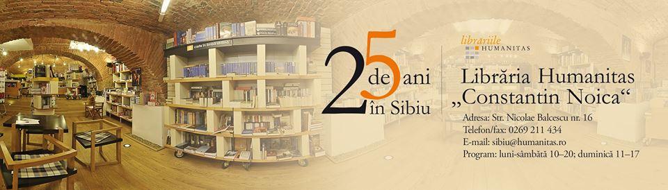 Sărbătorim 25 de ani alături de sibieni