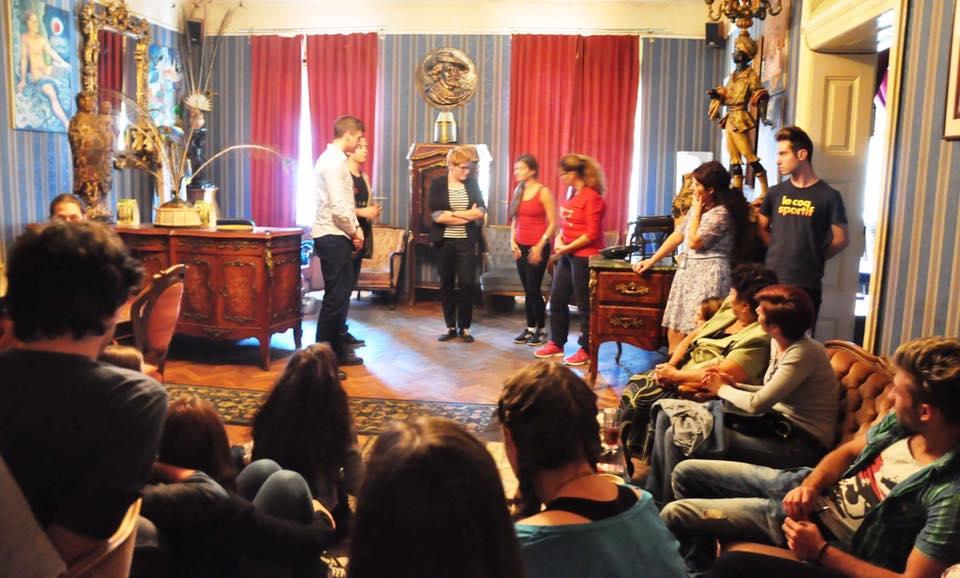 Teatru forum - Cheful la cabană