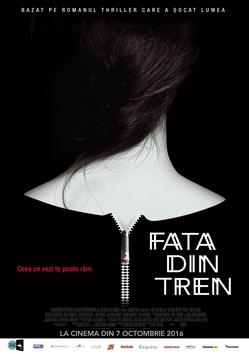 Fata din tren / The Girl on a Train (Premiera)