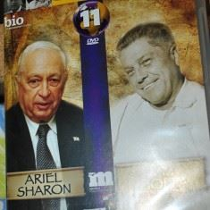 Vizionare filme documentare despre ARIEL SHARON si JIMMY HOFFA