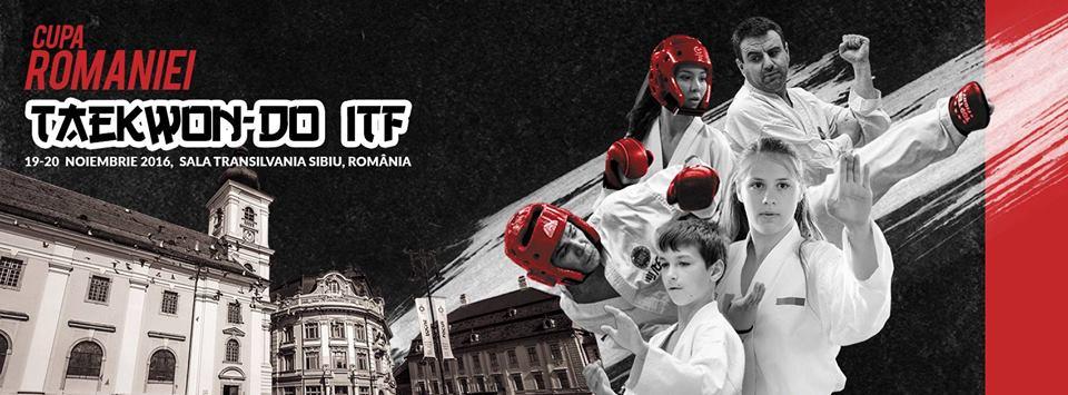 Cupa României la Taekwon-do ITF, Sibiu 2016