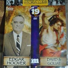 Vizionare filme documentare despre EDGAR HOOVER, DAVID & GOLIAT