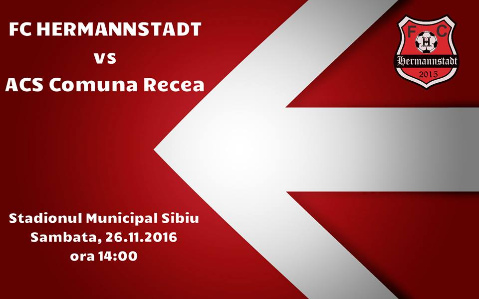 FC Hermannstadt vs ACS Comuna Recea