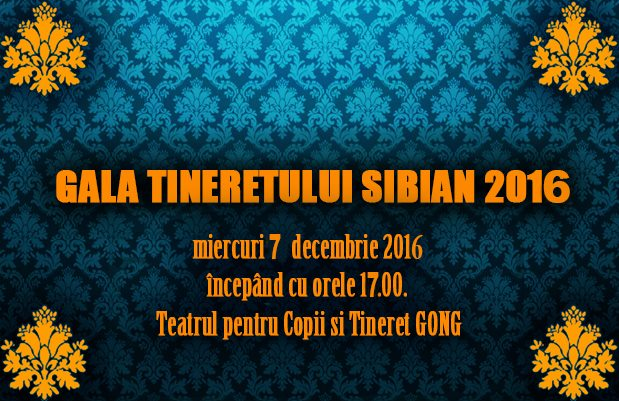 GALA Tineretului Sibian 2016