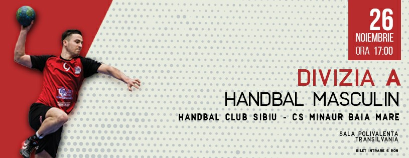 Handbal Club Sibiu - CS Minaur Baia Mare