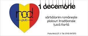 Sărbătorim 1 Decembrie împreună la Nod
