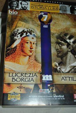 Vizionare filme documentare despre Lucrezia Borgia şi Attila