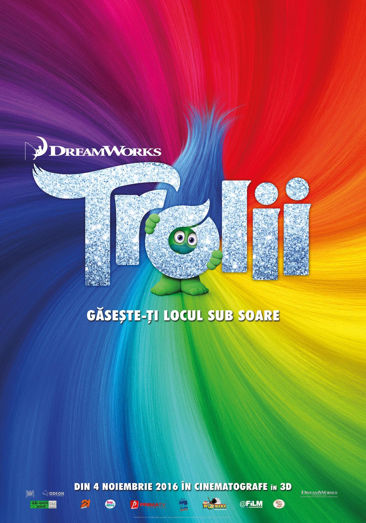 Trolii – 3D Dublat / Trolls – 3D