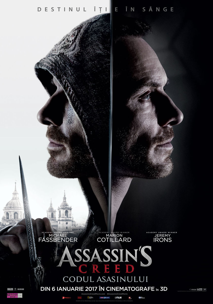 Assassins' Creed: Codul asasinului – 3D / Assassin's Creed – 3D (Avanpremiera)